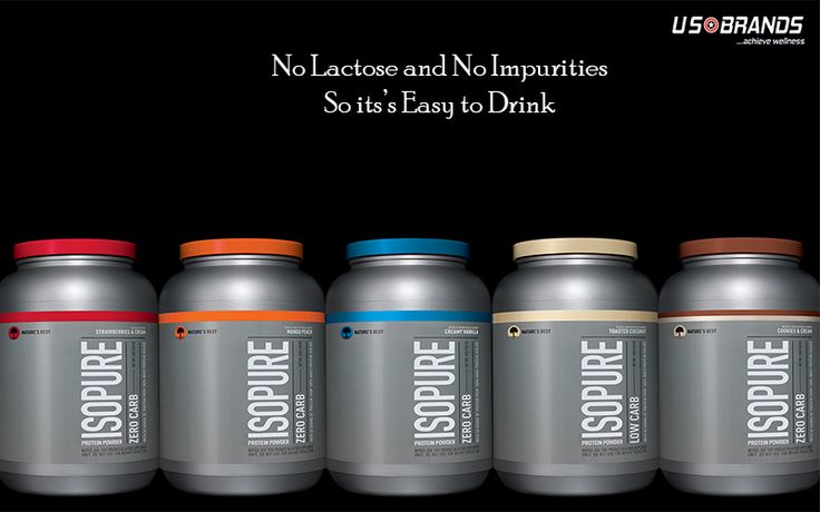 IsoPure Zero/Low Carb keeps your muscles Lean