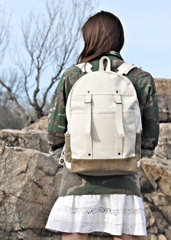 Aleutian Pack - Natural: Woman Backpacks, Image, Products