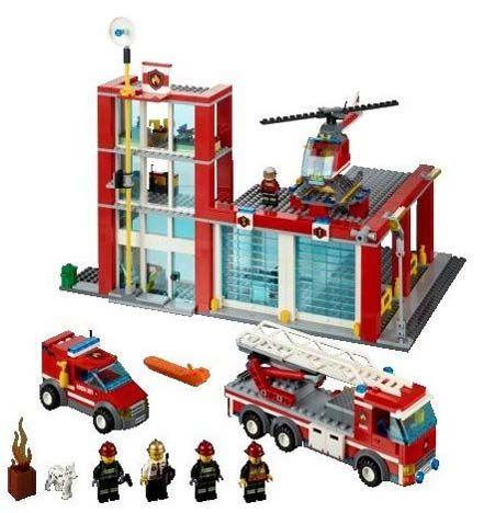 Lego city pemadam kebakaran
