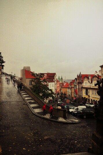 Wander without purpose or reason. Prague,  Czech Republic.