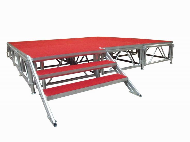 Transtage is a leading manufacturer and supplier of portable stages, modular staging system, aluminium staging system and portable staging for sale Australia wide.