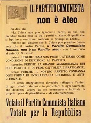Interessante manifesto datato 1946