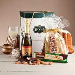 "ADIGE (102) Authentieke Pandoro (cake) ""Melegatti"" Zoete Mousserende wijn Dolce Grand cuve ""vinsoro"" Zachte nougat amandelen & chocolade ""Del Molise"""