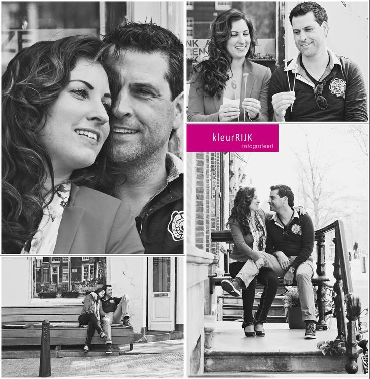 Loveshoot Amsterdam met Sabrina & Michaël