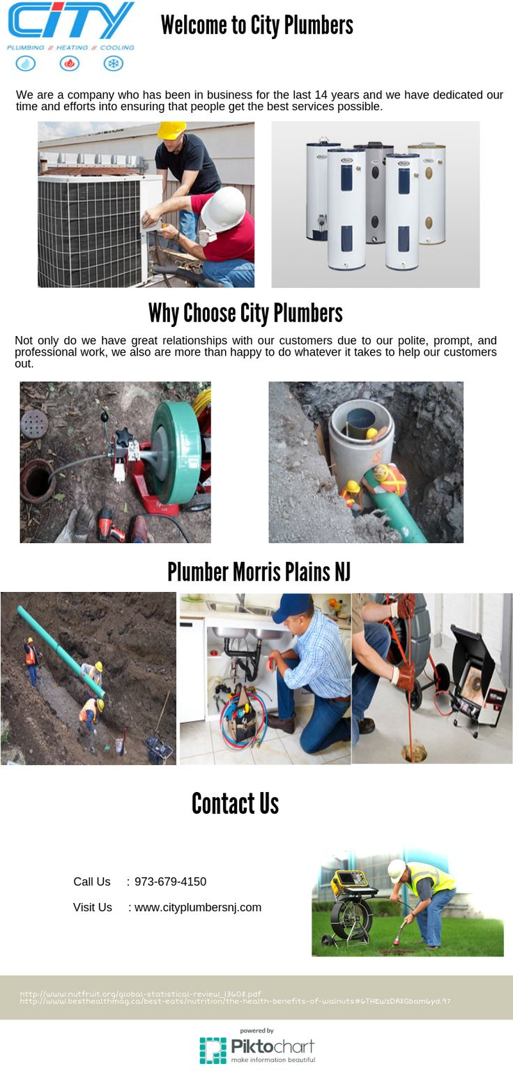 If you need assistance with your plumbing in North NJ, whatever it might be, City Plumbers is the best choice there is. When it comes to the pipes that string their way through your home and lawn, you want a company that is fast, prompt, professional, and reliable in every way.