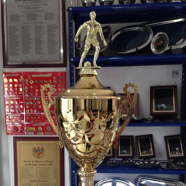 Conoce el trofeo del amistoso Millonarios vs River Plate