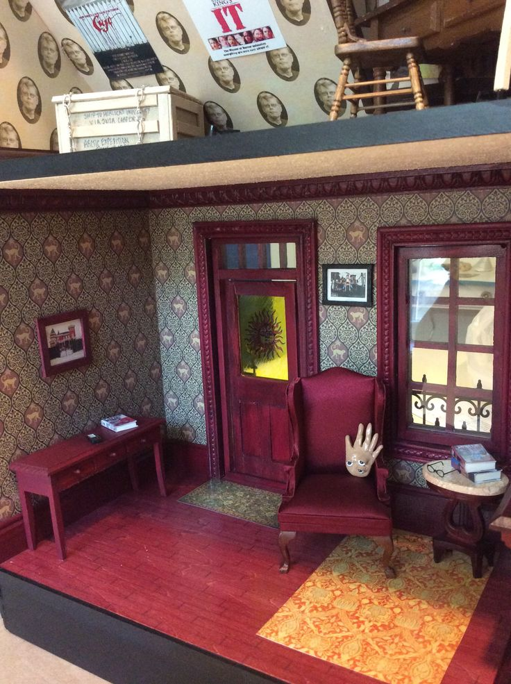 Inside My Sk Miniature House Stacy Thibeault Stephen
