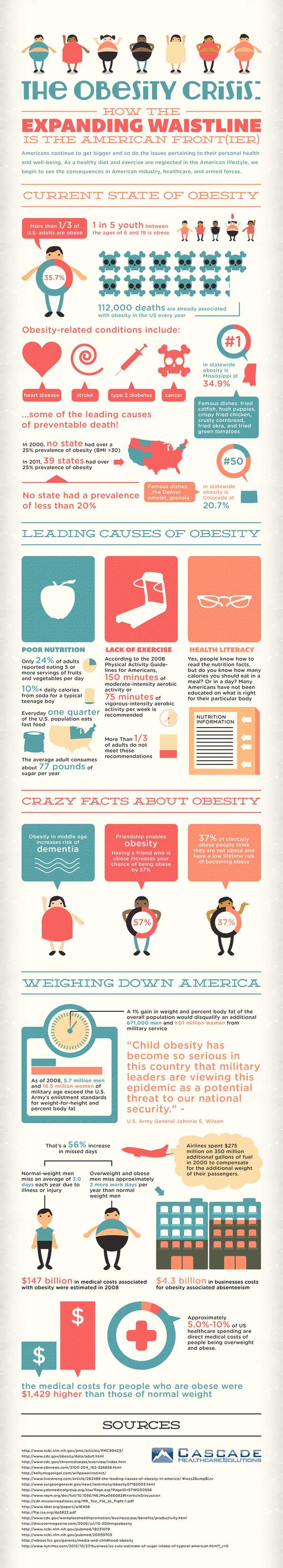 Obesity Crisis Infographic