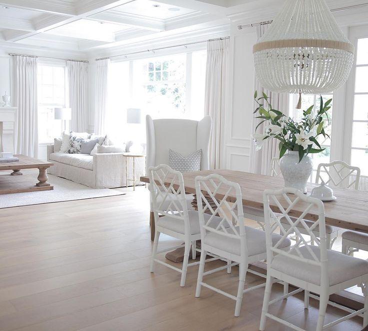 Between elegant & rustic. Transforming a builder-basic suburban Wash, DC home into a modern farmhouse! Host: #BrightWhiteWednesday