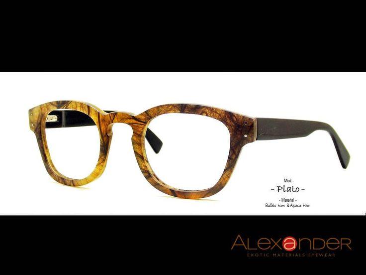 Eyeglasses handcrafted Eyewear by the finest quality Buffalo horn 2015 by Alexandereyewear on Etsy