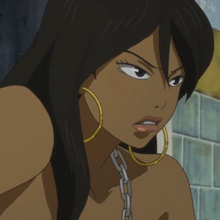 Cool Black Girl Aesthetic Cartoon Pfp - Elegance Nancy