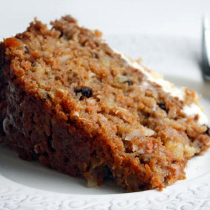 Sugar Free and Vegan Carrot Cake Recipe made with dates, carrots, and orange juice concentrate.