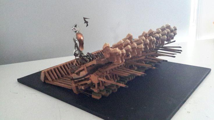Zeus     found objects , piano pieces