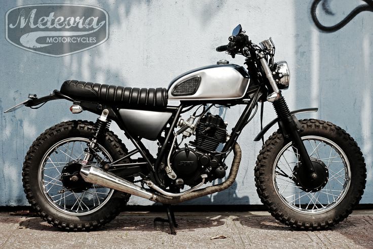 Sym Bonus 125cc... rebuild by Meteora Motorcycles from Vietnam. Is it look better than the original once...