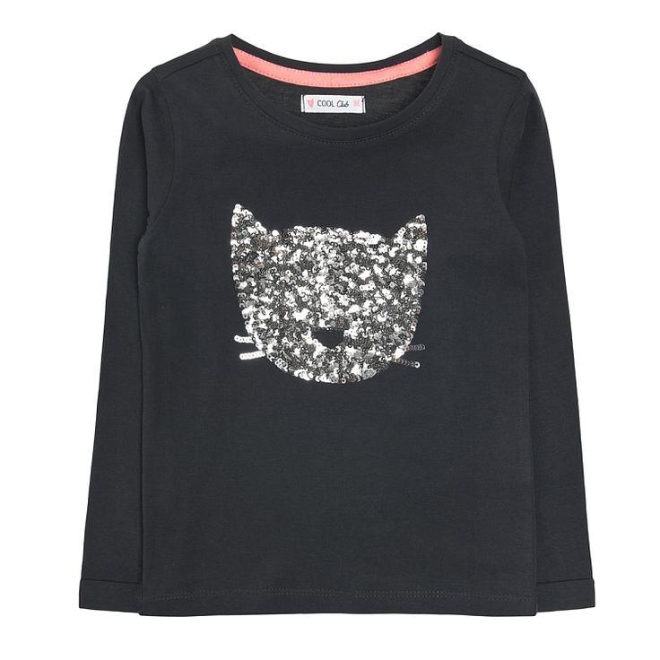 Cool Club, T-shirt dziewczęcy z długim rękawem