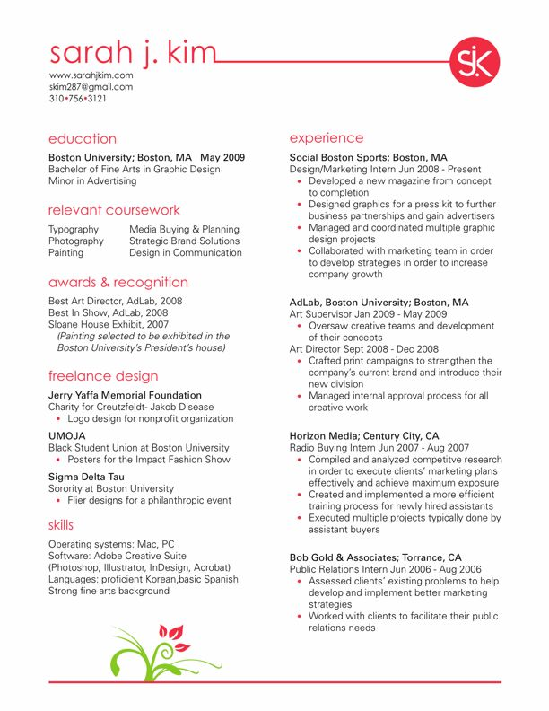Designer Resume Objective Resumes Pinterest Design