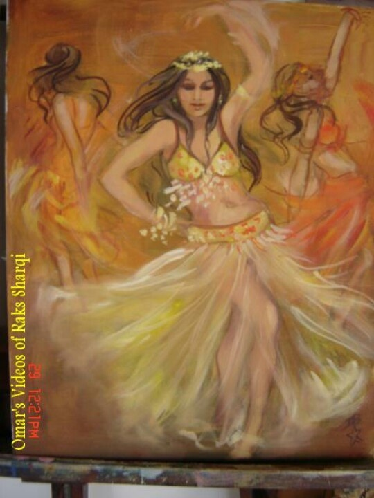 181 Best Belly Dance Paintings Illustrations Images On