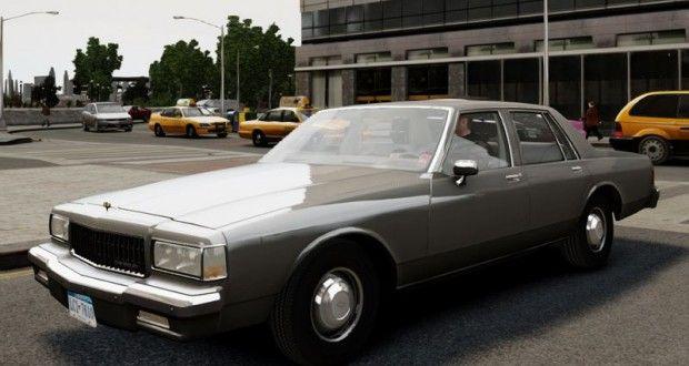 GTA 4 1989 Chevrolet Caprice v2.0 Araba