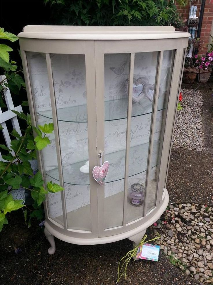 Charming Shabby Chic Display Cabinet, finished with Annie Sloan Paint lovingly refurbished by Imperfectly Perfect :-)