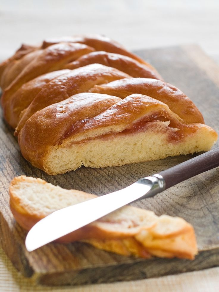 I have made more fruit filled bread braids than I can count, at this point! From using jam to fresh Saskatoon berries in a filling, there have been countless variations on this bread.        I use a