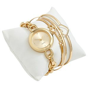 Women's Watch & Bangle Gift Set – Target Australia