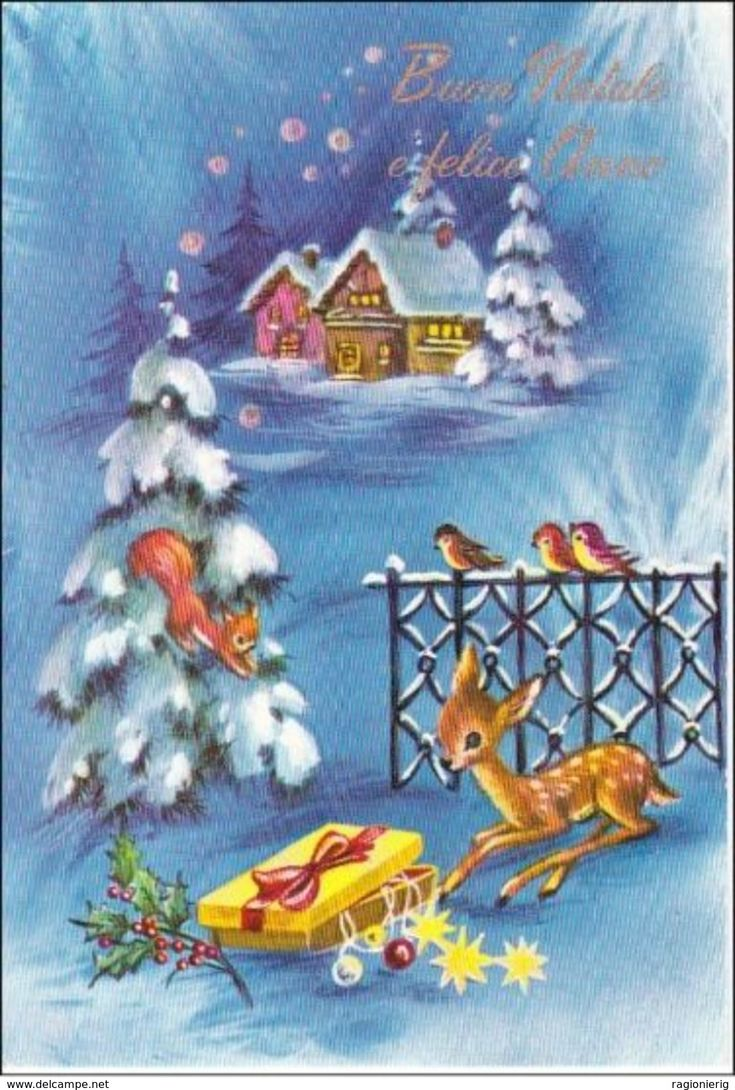 418 Best Old Fashioned Christmas Cards Reindeer Amp Deer