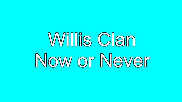 Now or Never The Willis Clan