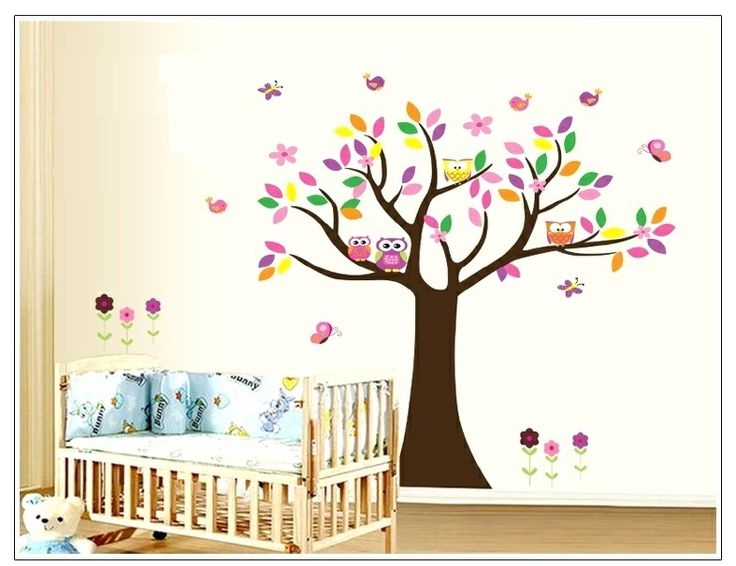 Best Nursery Wall Decals Images On Pinterest Abc Wall Baby - Bambi love tree wall decals