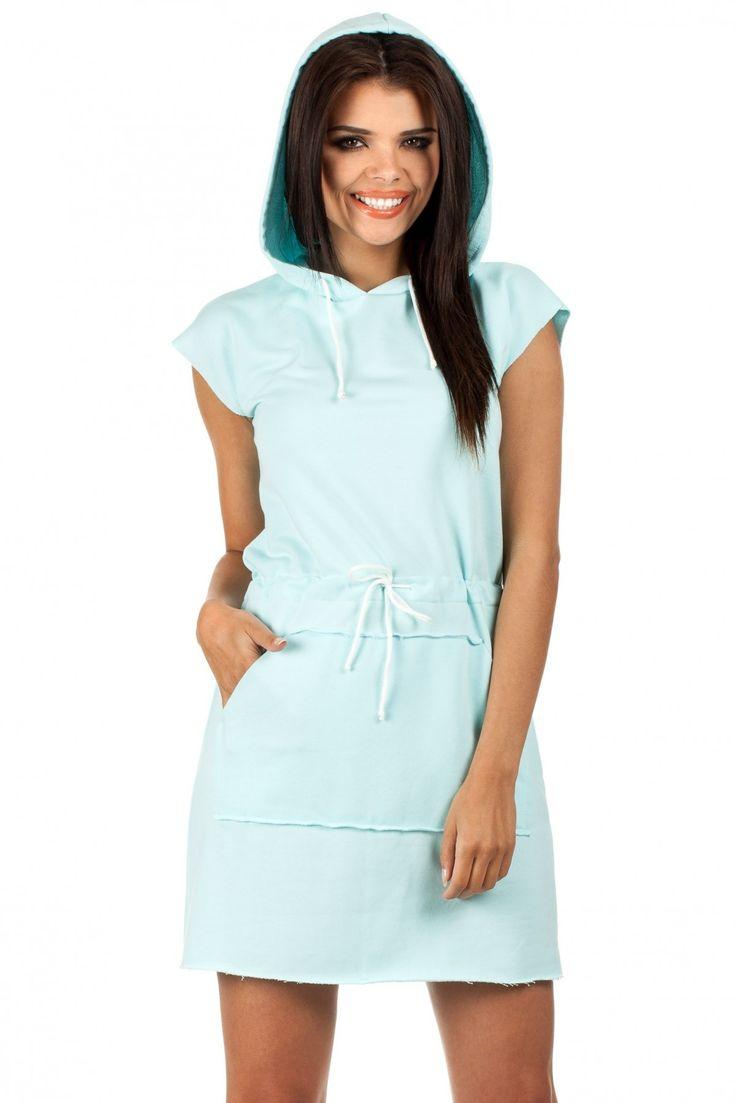 Sukienka Model MOE101 Mint #modadamska #sukienkiletnie #sukienka