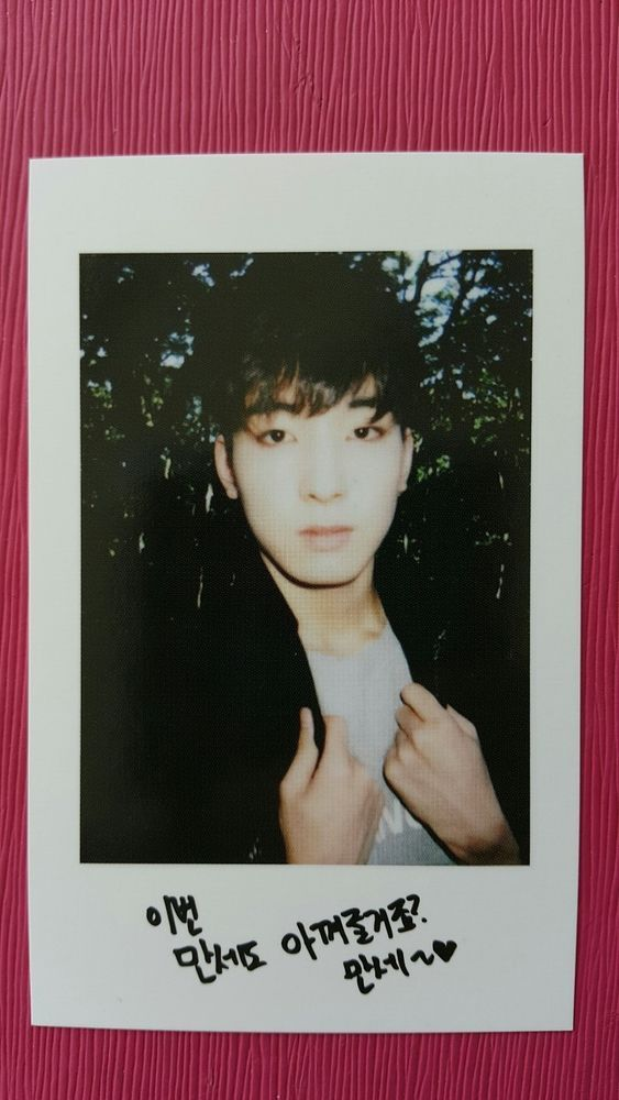SEVENTEEN WONWOO Official Photocard BOYS BE 2nd Mini Album Photo Card WON WOO