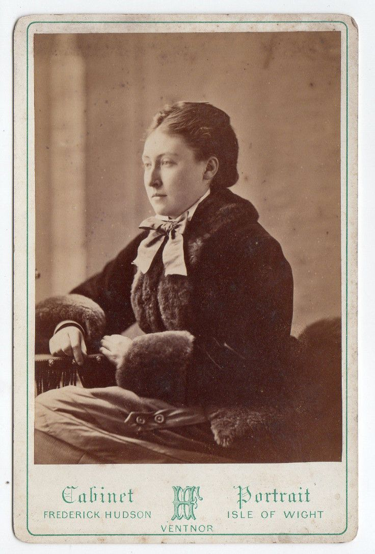 Cab Royalty ?. I DO NOT ACCEPT INTERNATIONAL CHEQUES DUE TO THE COST OF PROCESSING THEM. Photographer:- Frederick Hudson of Ventnor, Isle of Wight. Cabinet photograph of Princess Helena. | eBay!