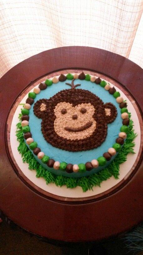 Jungle themed smash cake!