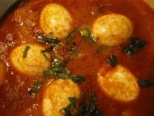 Lekkere pittige Indische eieren