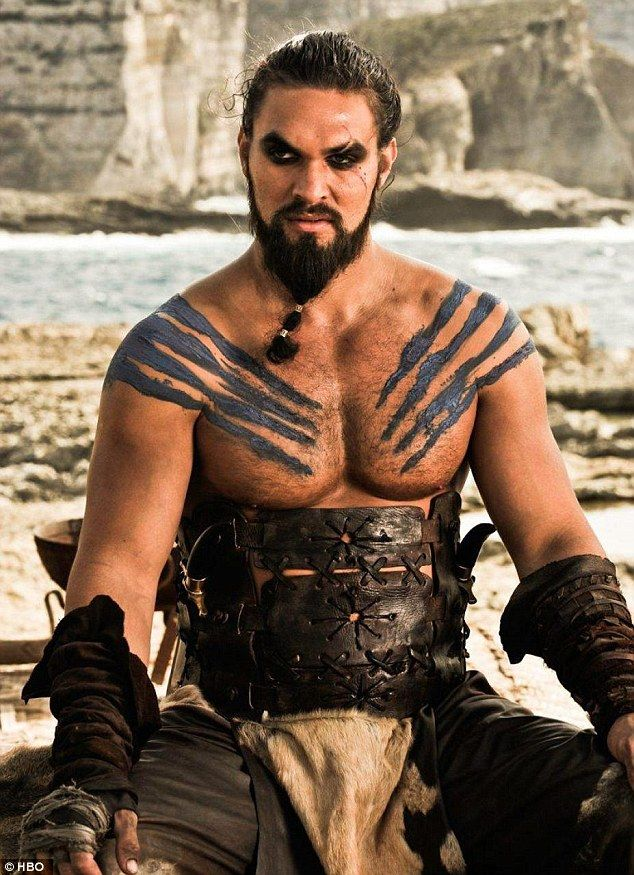 Khal Drogo is played by Jason Momoa.