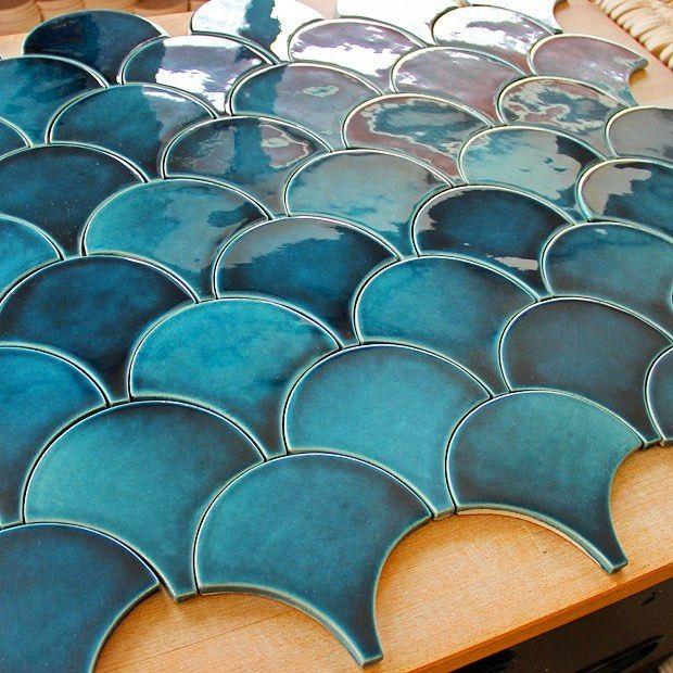 Best 25+ Handmade tiles ideas on Pinterest | Blue kitchen ...