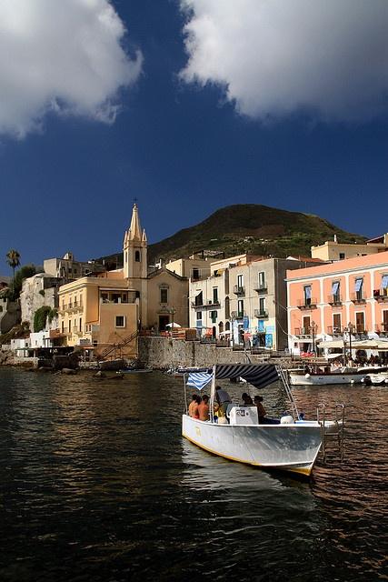 Lipari, Aeolian Islands(Isole Eolie), Sicily, Italy