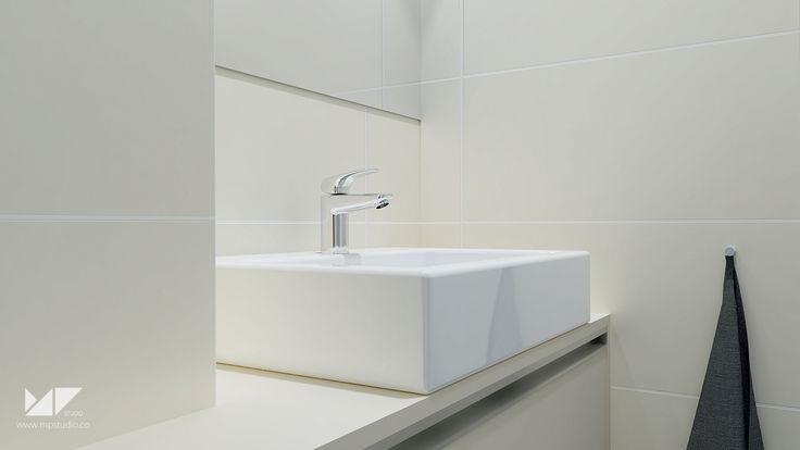 bright, modern bathroom | bathroom WA, Slovakia | MP STUDIO
