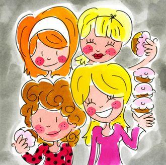 Friends & cupcakes