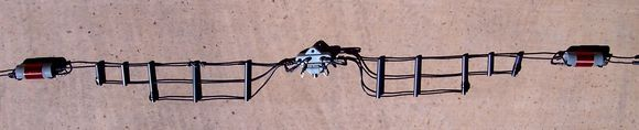 AlphaDelta DX-EE - this is the HF antenna I use since I have a very small city lot and no room for full size antennas