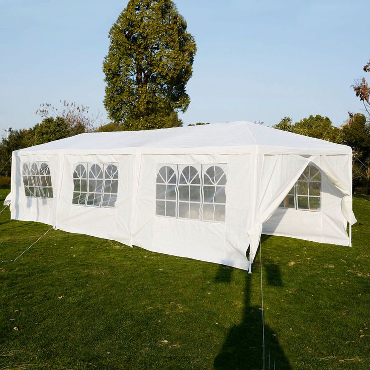 Outdoor 10'x30'Canopy Party Wedding Tent Heavy duty Gazebo Pavilion Cater Events
