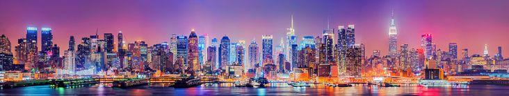 Midtwon Manhattan Skyline by Matthias-Haker.deviantart.com on @deviantART