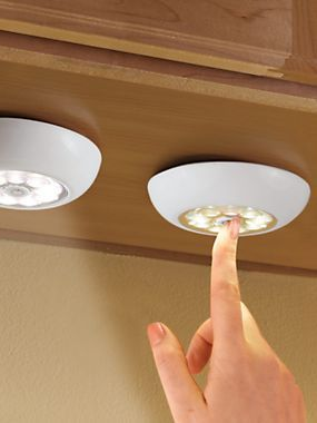 Superbrite Touch Light | Solutions For under cupboards, pantry and our pots/pans cupboard