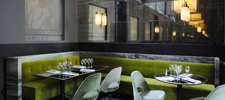 Monsieur Bleu - Restaurant, Bar, Mezzanine, Terrasse - 20 Avenue de New York 75116, Paris - t�l: +331 47 20 90 47