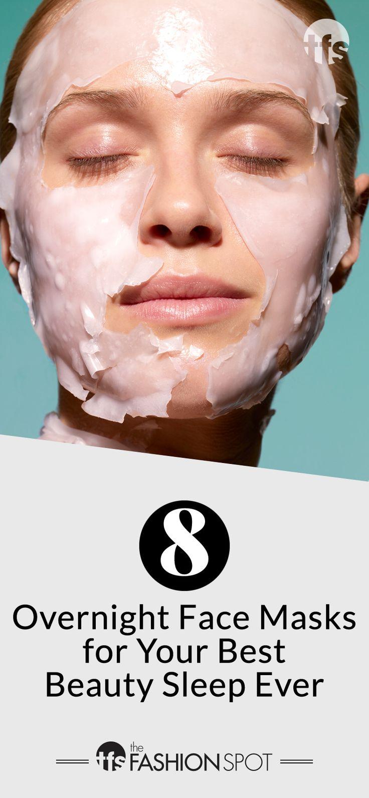 8 Overnight Face Masks for the Best Beauty Sleep Ever