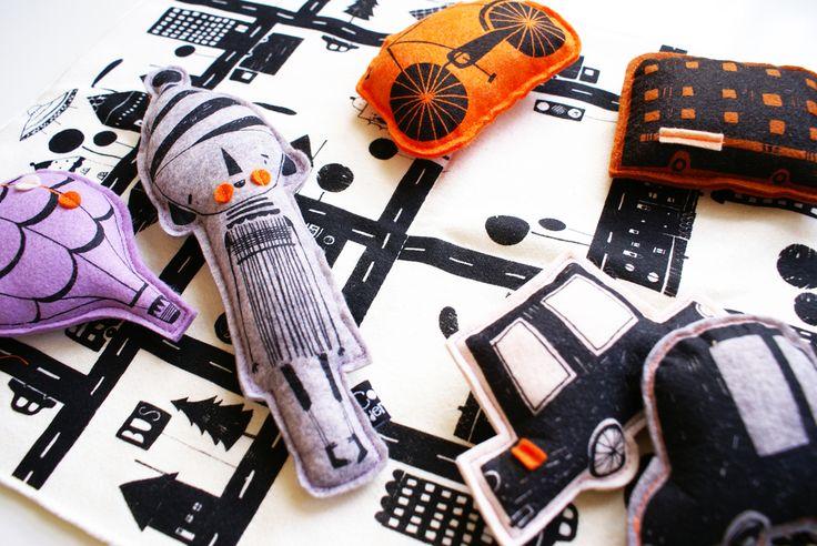 Corby Tindersticks — Interactive road atlas toy
