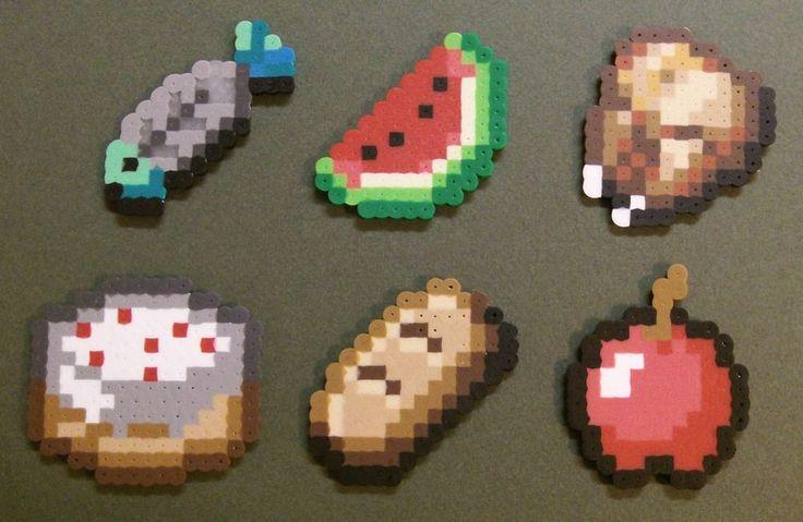 49 bästa bilderna om Minecraft Perler Beads på Pinterest ...