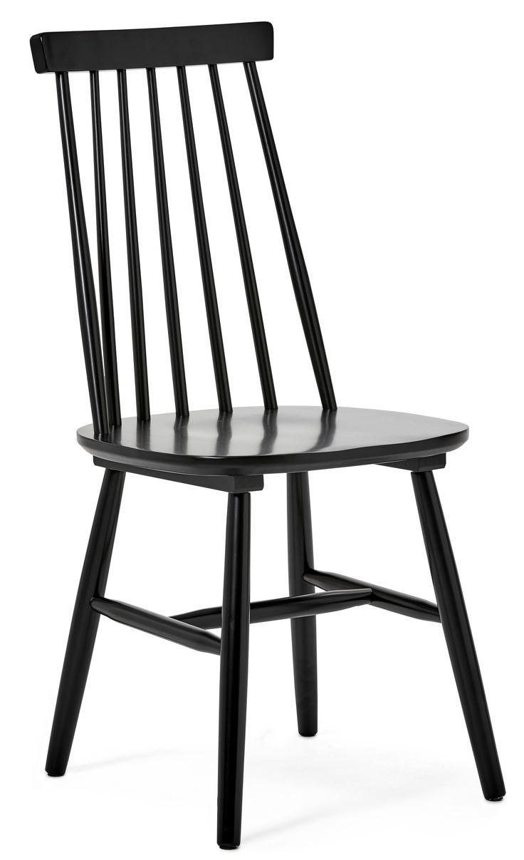 En uppdaterad klassiker som aldrig går ur tiden, det är vår pinnstol Einar. Den är lätt, smidig och elegant, och skön att sitta på. Ryggstödet som består av de traditionsenliga pinnarna, har på Einar fått en avsmalnande form och ger ett bra stöd. Stolen är med sin enkelhet lätt att kombinera med de flesta av våra matbord och används lika gärna i köket som i matsalen. Einar är i lackerat massivt trä, vilket ger en lättskött yta som du bara torkar av med en fuktad trasa. Då stolen kommer…