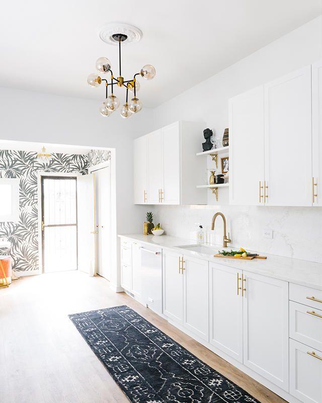 How A Havenly Designer Decorates Her Own Home Ganz Weisse Kuche Kuchenrenovierung Kuchendesign