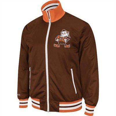 Mitchell & Ness Cleveland Browns Preseason Warm-Up Track Jacket