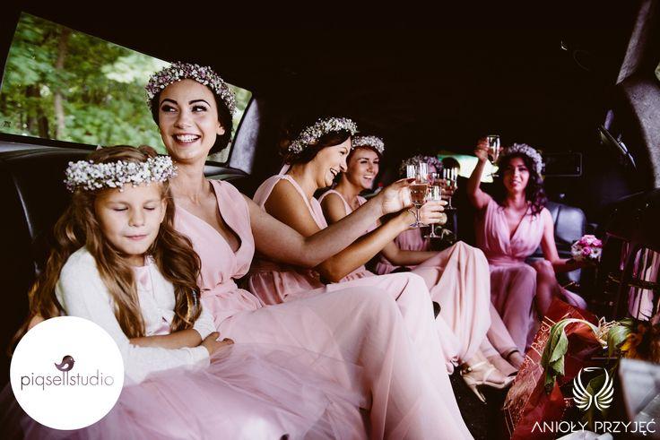 Glamour Wedding,Bridesmaids dress / Wesele glamour,Suknie dla druhen,Anioły Przyjęć
